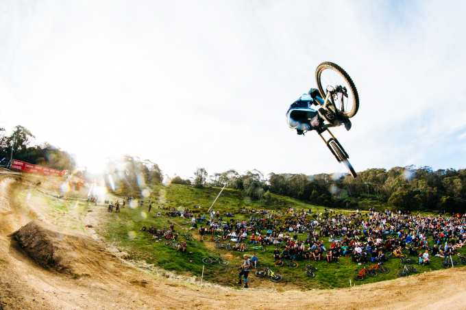 The Whip wars, always a crowd favourite. Photo: Thredbo