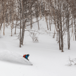 Niseko, Jan 19. There have been plenty of days like this after 1.4m in the past 7 days. Photo: Matt Wiseman/Niseko Photography