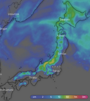 The Grasshopper's Weekly Japan Forecast - Feb 14th