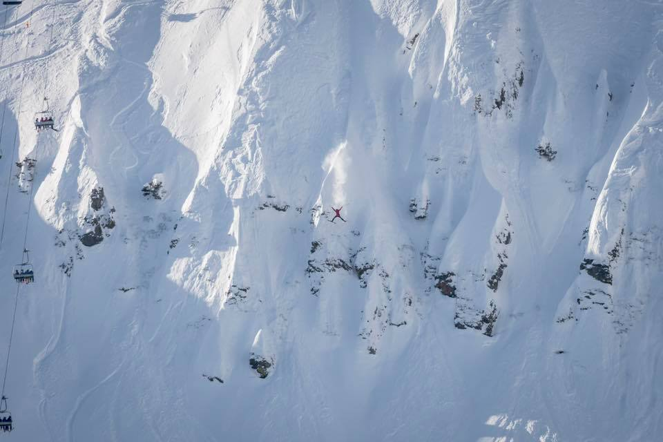 Matt Cook skiing The Fingers, Squaw Valley | Mountainwatch
