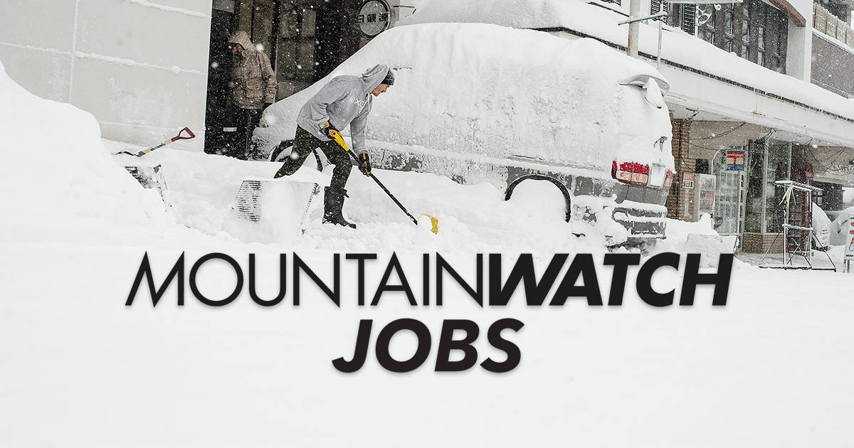 Mountainwatch Jobs - Find Yourself A Job In The Mountains