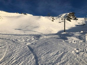 Cardrona yesterday. Sunny days are set to continue. Photo: Cardrona