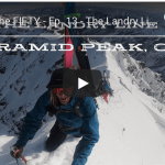 The Fifty – The Landry Line, Pyramid Peak, Colorado. Episode 13 in Cody Townsend's Quest to Ski the 50 Classic Ski Descents of North America.