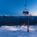 Coronet Peak. Snowfalls are forecast on Friday. Hopefully it will look like this on the weekend. Photo: Coronet Peak