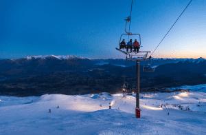 Coronet Peak. Snowfalls are forecast on Friday. Hopefully it will look like this on the weekend. Photo: Coronet Peak