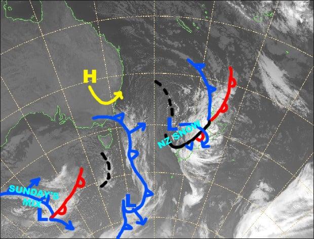 Grasshopper's Australian Forecast, Fri, July 19