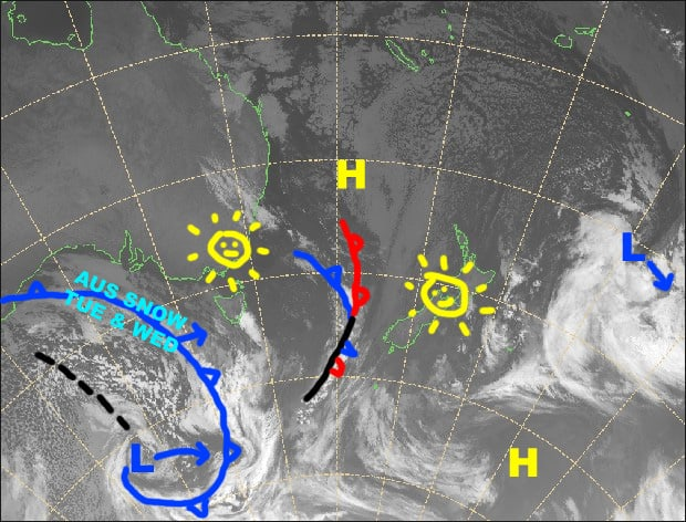 Grasshopper's Australian Forecast, Monday, July 22