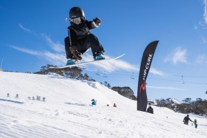The groms were out in force, with over 185 registered kids. Photo: Perisher