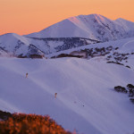 Mount Hotham looking good in this week's fine weather, but things are set to change next week. morning