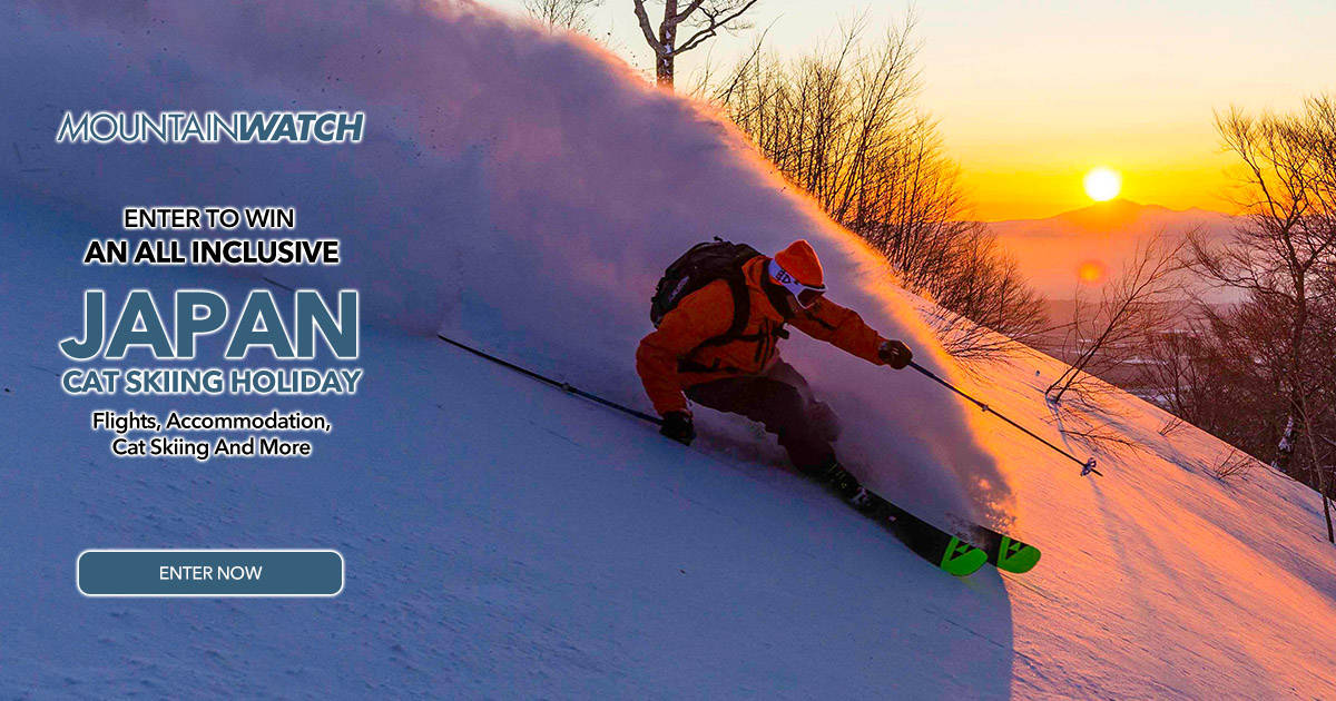 Enter to win an all inclusive Cat Skiing Holiday to Shizukuishi, Japan