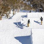 Snowboarder Matt Cox Cruising Through Perisher Parks – Video