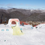 A perfect day for the Transfer Banked Slalom