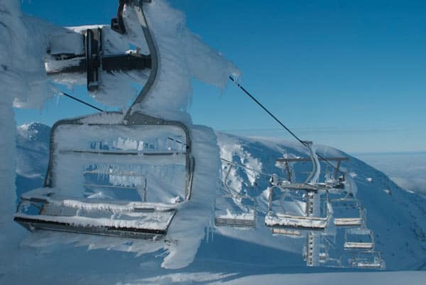 Weekend snow at Mt Hutt. Image - NZSki.com