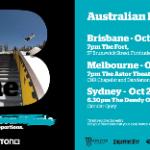 The B Movie – Oz Premiere Tour