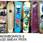 2010 Snowboards and Bindings Sneak Peek
