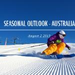 SNOW SEASON OUTLOOK – August Update