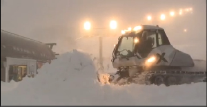 PERISHER POWDER in the VIDEO Snow Forecast