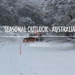 SEASON OUTLOOK 2013 – Australia – July Update