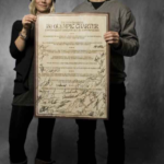 Snowboarders sign Olympic Charter in Oslo, Norway