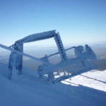 Lift Tower Collapses at Turoa