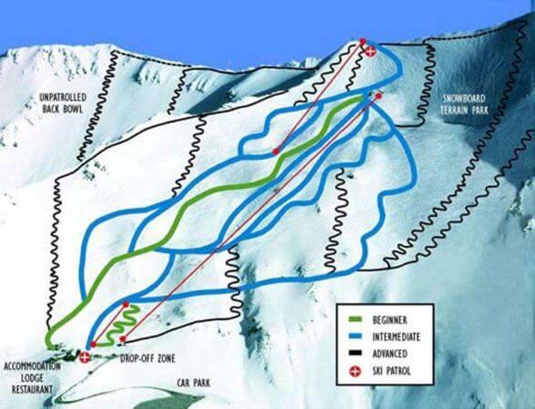 Mount Cheeseman Trailmap
