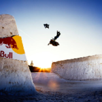 Video –  The Snowboard and Snomobile