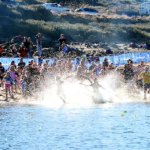 VIDEO Icy Plunge at Falls Creek to Bargain for Good Season