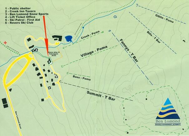 Ben Lomond Trailmap