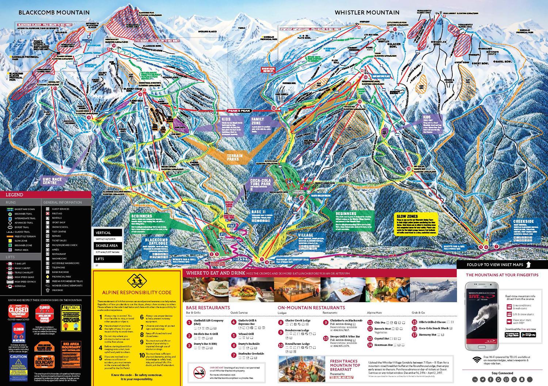 Whistler Trailmap