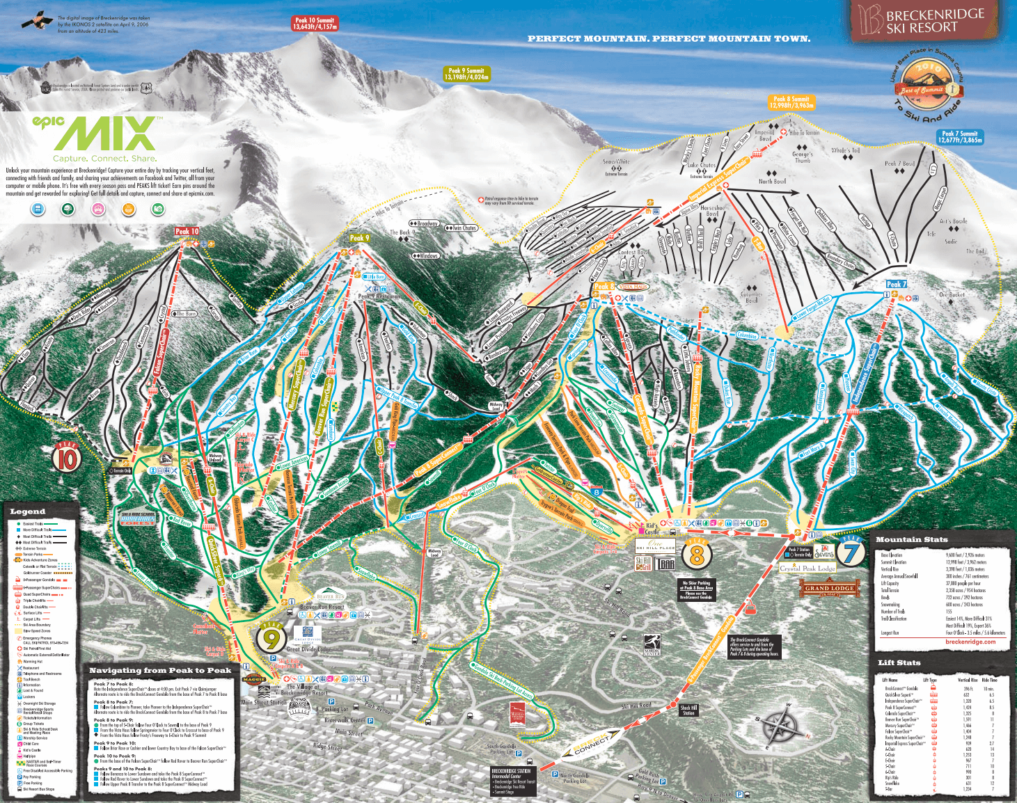 Breckenridge map