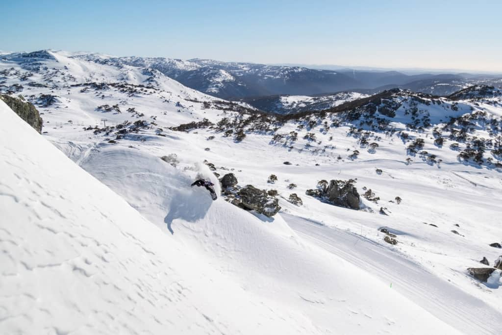 Winter in the NSW Snowy Mountains
