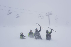 Winter Storm Hits New Zealand