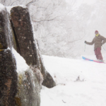 20 August, 2010 – Hucking in Fresh Pow at Buller