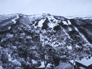 SNOW For the Australian Snowy Mountains