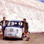 Snow near the summit of Mt Kosciuszko in January 1969. Image:: Bruce Thomas/Flickr