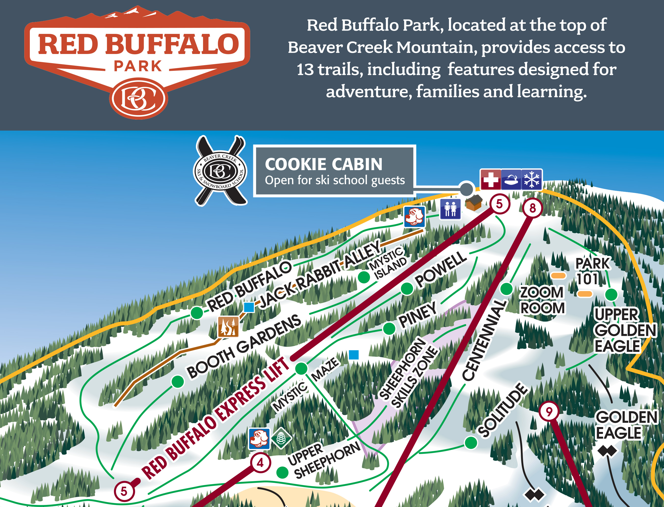 Beaver Creek map