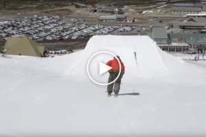 Perisher Park Skied Backwards And We Don't Mean 'Switch' - Video