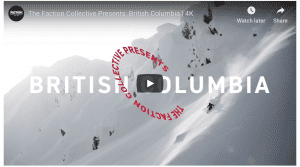 The Faction Crew Ripping A Backcountry Powder Paradise in British Columbia - Video