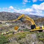 Construction Update On Perisher's New Leichhardt Quad Chairlift