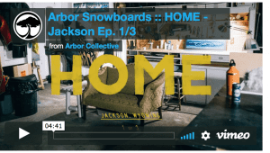 Arbor Snowboards presents Home - Brian Iguchi and Mark Carter In Jackson - Videos