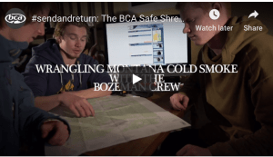 Send And Return – BCA's Safe Backcountry Shredding Series – Video