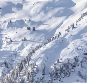 St Anton has had over two metres of snow it past two weeks. Photo: St Anton