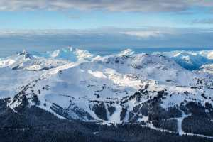 Some cold and sunny weather in Whistler Backcomb this week, but that is about to change with a big storm set to hit the next 24 hours. Photo: Mitch Winton Photography