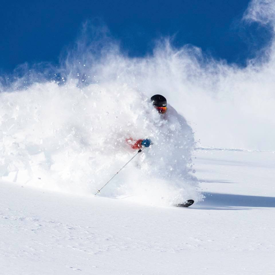 Jed Kravitz enjoying the Squaw Valley Snow Conditions, Feb 11 | Mountainwatch