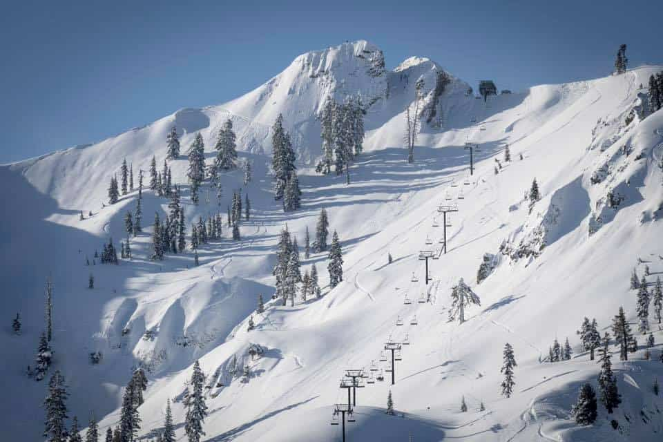 The enticing terrain under KT22, Squaw Valley | Mountainwatch