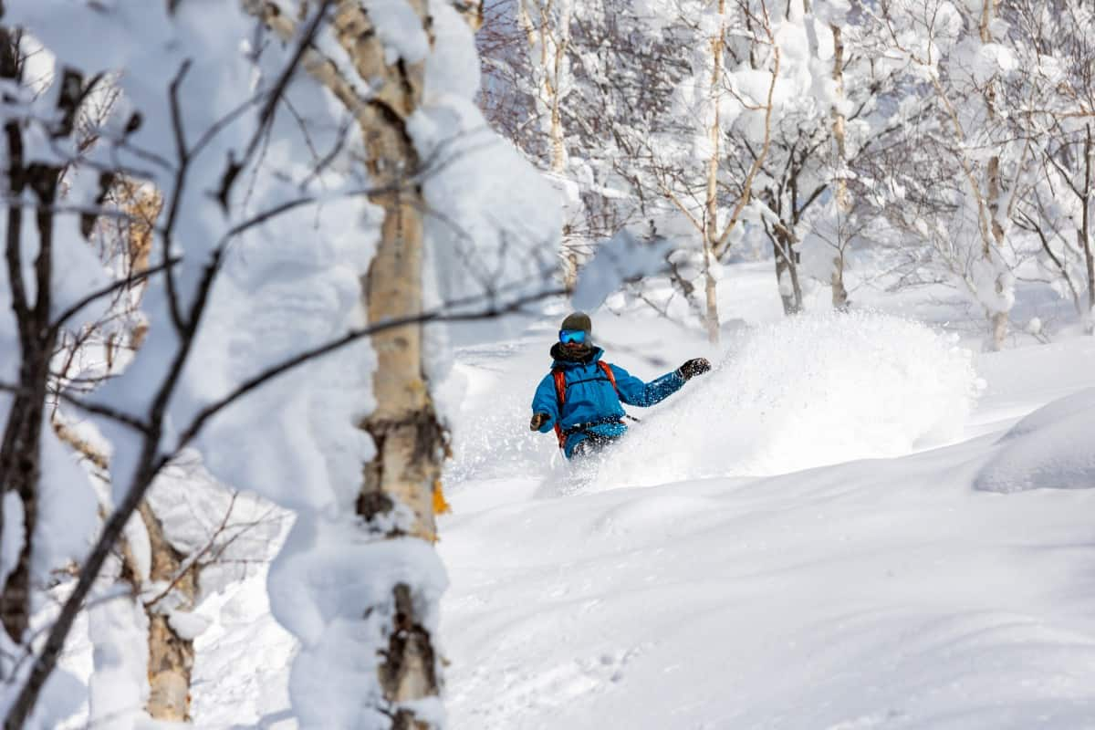 Local guide Vincent Genannt in Niseko's backcountry | Mountainwatch