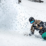 Amber Nelson having fun n Snowbird last week. Should be more of this in Utah over the next week. Photo: Chris Segal