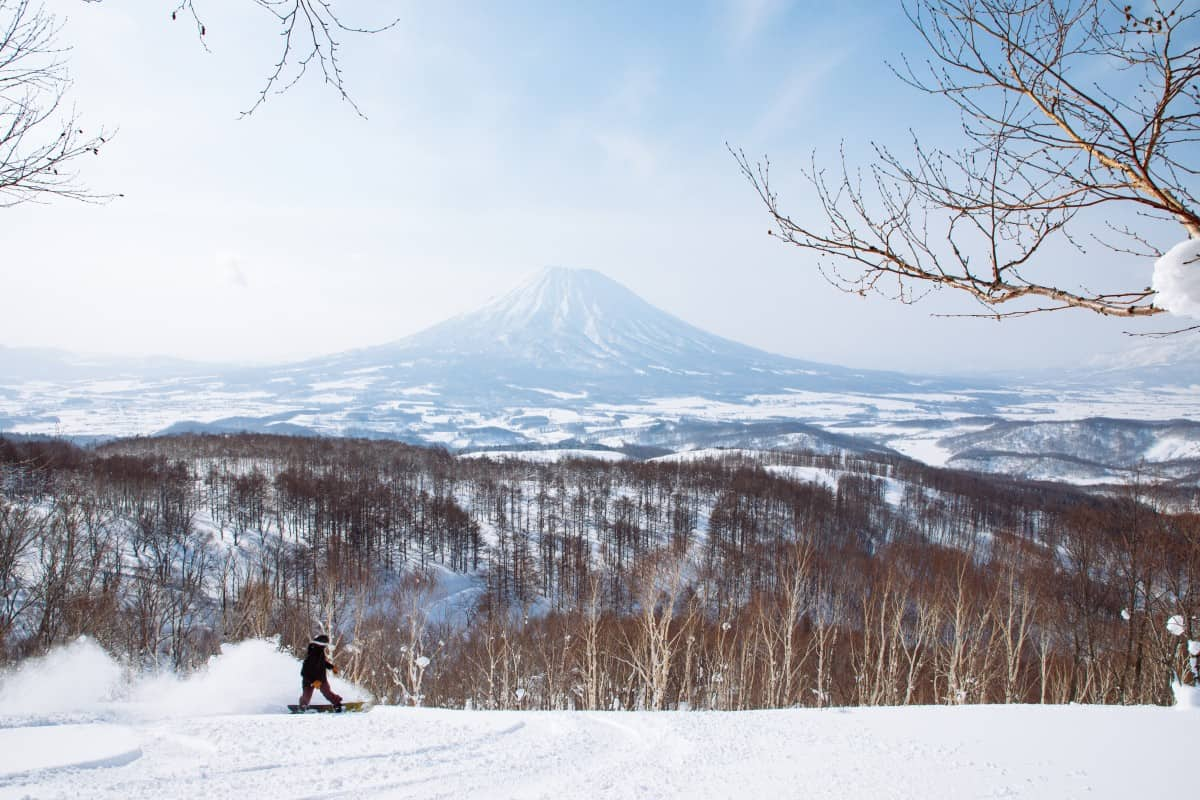 The view from the top of Niseko | Mountainwatch