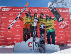 World's Best Freeriders Crowned As World Champions At Freeride World Tour Final Event - XTreme Verbier