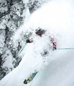 This was Coen's fifth winter in Jackson and it was a good one. Plenty of powder, plenty of air and a fourth in the Kings and Queens of Corbet's.